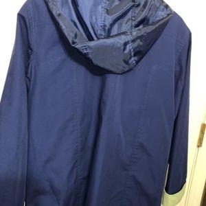 Men's Tommy Hilfiger windbreaker/rain coat blue